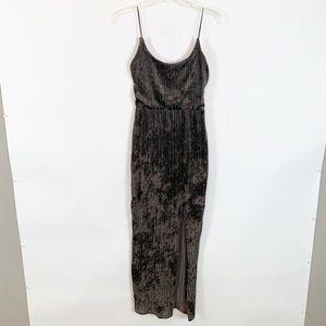 Nasty Gal Brown Maxi Dress Size 4